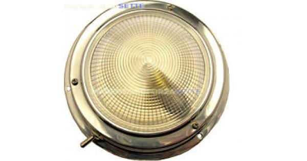 Plafoniera Led 12v Con Interruttore : Plafoniera tonda inox con interruttore v d mm