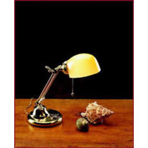 Lampada Da Scrivania In Ottone.Lampada Da Tavolo Ottone Massiccio 500mm