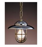 LAMPADA DA SOFFITTO DIAMETRO 220MM IN OTTONE LUCIDO ART.2060B.L