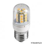 LAMPADINA A LED SMD ZOCCOLO E27 CON COPERTURA VETRO DEI LED