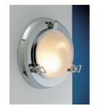 LAMPADA APPLIQUE MODELLO OBLò IN OTTONE CROMATO DIAMETRO 275MM Art.  2021.CS