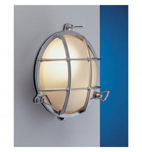 lampada a tartaruga tonda in ottone lucido diametro 193mm