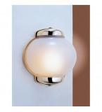 LAMPADA APPLIQUE IN OTTONE LUCIDO 210X200 CON VETRO SABBIATO ART.2061.LS