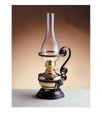 LAMPADA DA TAVOLO IN OTTONE LUCIDO FUNZIONANTE A PETROLIO DIMENSIONE 400MM Art.  2069.LT