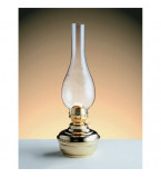 LAMPADA DA TAVOLO IN OTTONE LUCIDO FUNZIONANTE A PETROLIO Art.  2069B.LT