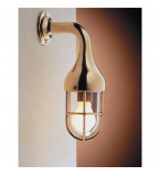 LAMPADA APPLIQUE  DIAMETRO 110MM IN OTTONE LUCIDO ART.2075.L