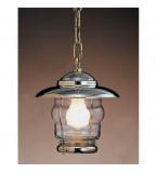 LAMPADA DA SOFFITTO DIAMETRO 220MM IN OTTONE LUCIDO ART.2077B.LT