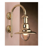 LAMPADA APPLIQUE  DIAMETRO 260MM IN OTTONE LUCIDO ART.2162B.L