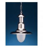 LAMPADA DA SOFFITTO DIAMETRO 260MM IN OTTONE CROMATO Art.  2162.C