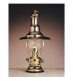 LAMPADA DA TAVOLO IN OTTONE LUCIDO FUNZIONANTE A PETROLIO Art.  2214.LT