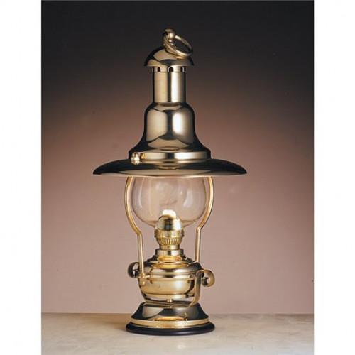 Lampada Da Scrivania In Ottone.Lampada Da Tavolo In Ottone Lucido Funzionante A Petrolio Art 2214 Lt