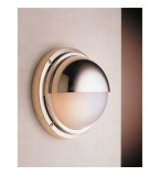 LAMPADA APPLIQUE DIAMETRO 240MM IN OTTONE LUCIDO ART.2225.L