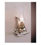 LAMPADA APPLIQUE MISURE 180X305 MM IN OTTONE LUCIDO  ART.2232.LT