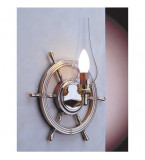 LAMPADA APPLIQUE DIAMETRO 320MM IN OTTONE LUCIDO ART.2235.LT
