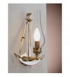 LAMPADA APPLIQUE MISURE 220X320 MM IN OTTONE LUCIDO ART.2237.LT