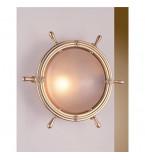 LAMPADA APPLIQUE  DIAMETRO 320MM IN OTTONE LUCIDO ART.2300.L