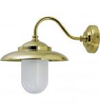 LAMPADA APPLIQUE DIAMETRO 207MM IN OTTONE LUCIDO ART.2324.L
