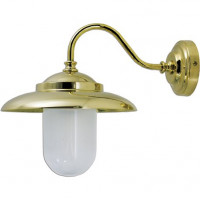 LAMPADA APPLIQUE DIAMETRO 207MM IN OTTONE LUCIDO ART.2324.L
