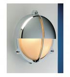 LAMPADA IN OTTONE CROMATO CON SCHERMO A VISIERA DIAMETRO 226MM Art.  2427.C