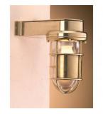 LAMPADA APPLIQUE  IN OTTONE LUCIDO ART.2430B.E27.L