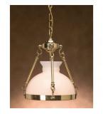 LAMPADA IN OTTONE CORALLO Art.  3020