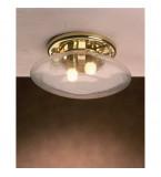 LAMPADA IN OTTONE PORTO MORELOS MISURE 170X300MM CON VETRO TRASPARENTE Art.  3225