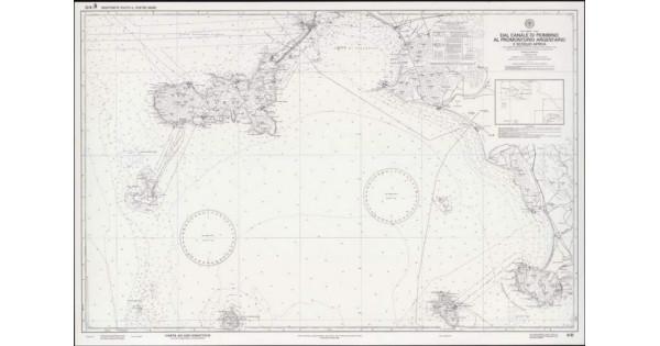 Cartina 5d.Carta Nautica Didattica 5d Dal Canale Di Piombino Al Promontorio Argentario E Scoglio D Africa