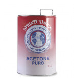 ACETONE PURO CONFEZIONE LT.5
