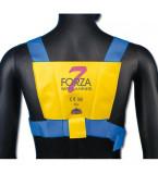 CINTURA DI SICUREZZA ADULTO MODELLO FORZA SETTE CONFORME 89-686 EEC PORTATA MAX  2000KG