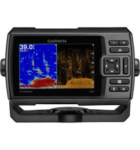 COMBINATO ECOSCANDAGLIO GPS GARMIN STRIKER 5CV PLUS 500W CON TRASDUTTORE DI POPPA TECNOLOGIA CHIRP