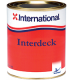 INTERDECK INTERNATIONAL SMALTO POLIURETANICO ANTISDRUCCIOLO PER PONTI 750 ML COLORE BIANCO