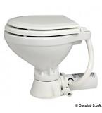 WC TOILET ELETTRICO 12V TAVOLETTA LEGNO COMPACT POMPA IN BRONZO COMPLETO DI PANNELLO PUSCH
