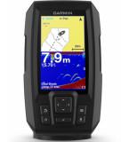 GARMIN STRIKER PLUS 4 CON TRASDUTTORE POPPA + GPS INTEGRATO + FISHFINDER CON ECOSCANDAGLIO GARANZIA ITALIA
