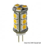 LAMPADINA LED 12-24V ATTACCO G4 2,4WATT LUMEN 161