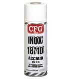 INOX 18/10 CFG ACCIAIO INOX VERNICE GALVANIZZANTE SPRAY ANTICORROSIONE 400ML